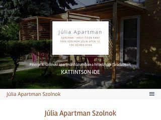 Júlia Apartman Szolnok