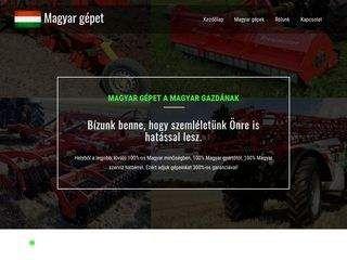 Magyar Gépet - mezőgazdasági gépkereskedés
