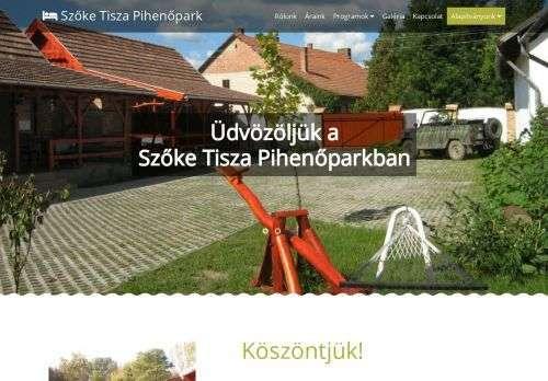 Szőke Tisza Pihenőpark